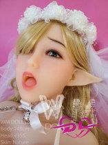 新菜ちゃん 148cm  Lカップ WM Dolls#355 ELF ears 5つの穴付き