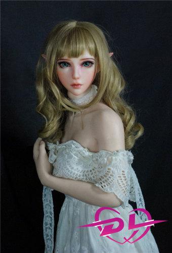 须賀友絵 102cm ElsaBabe エルフヘッドシリコンラブドールBJD人形