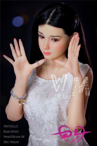 伊鞠 164cm   WM Dollシリコン製頭部#4+TPEボディ 頭部植毛ラブドール