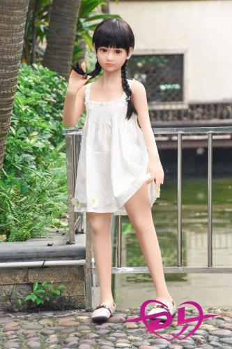 柚唯花 120cm平胸  axbドール 十代娘リアルドール