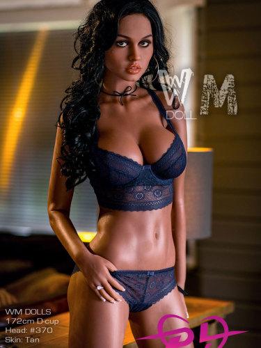 172cm B cup WMDOLLS #370 黒美人セックスドール