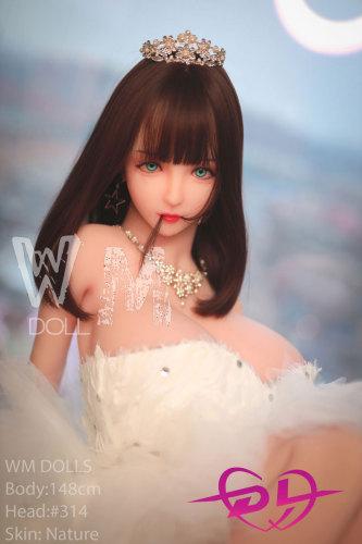 夏希ちゃん 148CM 巨乳5穴ラブドール WM Dolls#314