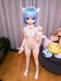 135cm AA-cup#12ヘッド Aotume Doll アニメ人形