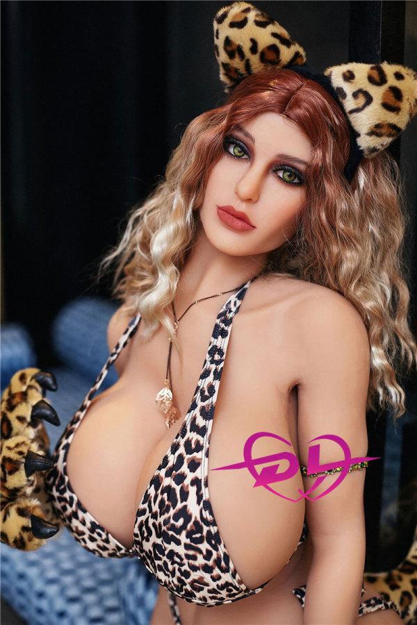 Leopard Girl Mia140cm Irontechdoll 高級ダッチワイフ