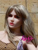 Jessee156cm B-cupヨーロッパスタイルダッチワイフOR Doll#005-40-