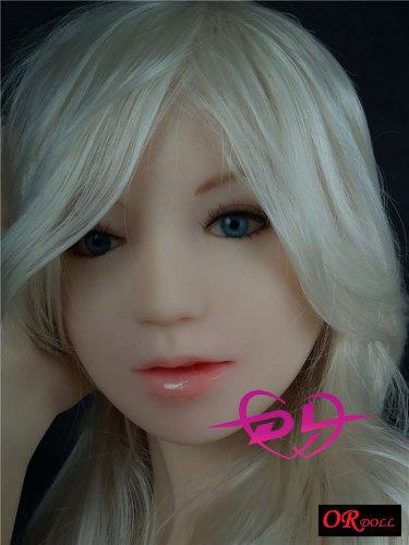 白髪Sara 156cm D-cupリアルラブドール OR Doll#001-19-