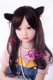 可愛い桜子138cm A-Cup普肤MOMOロリドール