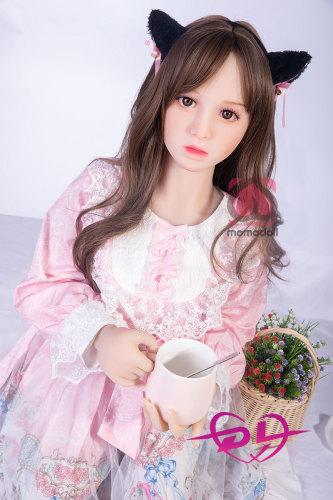 紗莉奈138cm微乳超可愛いMOMOdollロリ巻き毛ラブドール