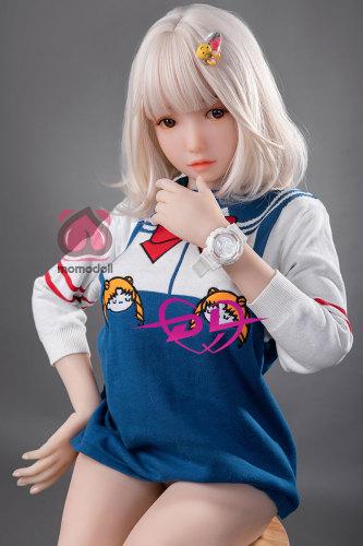 加奈子138cm E-Cup MOMOdoll白髪ロリラブドール