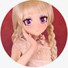 キュートな吉子135cm AA-cup#22ヘッド Aotume Doll アニメラブドール