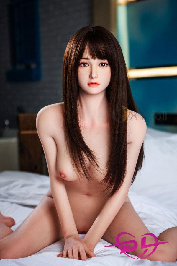 梅子158cm Cカップシリコン頭部+tpeボディ等身大ドールEVO骨架XY Doll#014