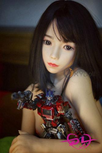明子 138cm 小胸シリコン頭部+tpeボディリアルドールEVO骨架XY Doll