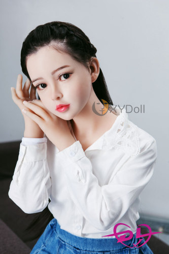 上官倩倩 138cm 小胸シリコン頭部+tpeボディ等身大ドールEVO骨架XY Doll