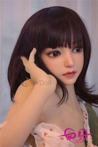 順子140cm BカップEVO骨架シリコン頭部+tpeボディリアルラブドールXY Doll#009