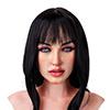 伊贝尔 168cm Cカップシリコン頭部+tpeボディセックスドールXY Doll