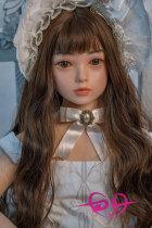 100cm【kazuna】平胸 WAX Doll #G26 シリコン可愛い美 少女ロリドール