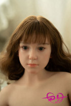 142cm【sachie】平胸 WAX Doll#G50シリコンリアルラブドール