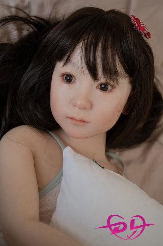 110cm【tokiko】平胸 WAX Doll#G47シリコン高級ダッチワイフ