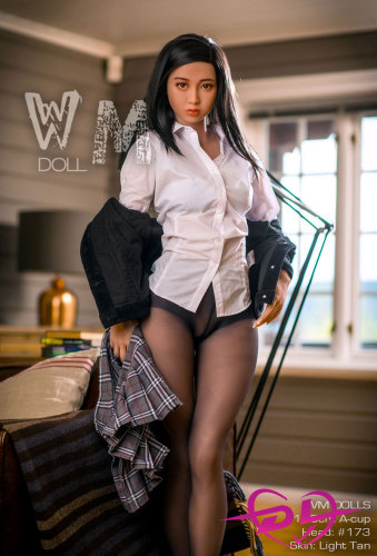 160cm Alice A-cup WM Doll #173ヨーロッパAV女優ラブドール