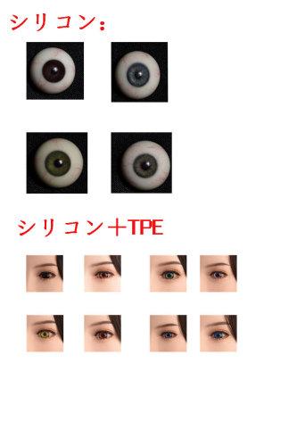 WAX Doll専用眼球