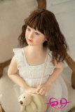 110cm【由佳】平胸 WAX Doll#G34シリコン高級ロリドール