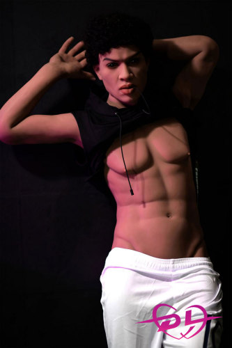 167cm高橋さんシリコン+TPE 小麦肌男性ゲイラブドールHR Doll#31