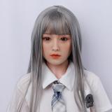 梨恵158cm DカップDLDoll最高級シリコン+TPE 元気なリアルドール