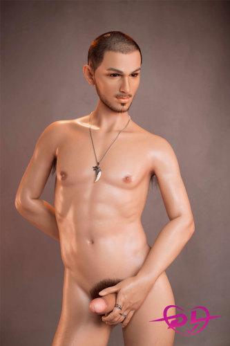165cm凯文シリコン+TPE DHDollハンサム男性リアルドール
