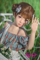 110cm Riko璃子微乳WAX Doll#R03シリコンセクシードール