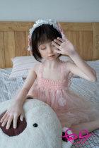 108cm Aya綾 微乳美女AXB Doll#A51目を閉じるラブドール