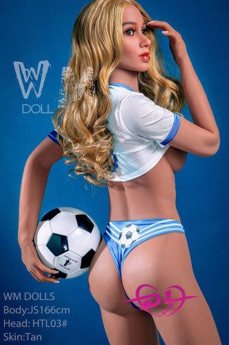 Kagesaちゃん 166cm C-cup WM Dolls #HTL03 サッカー娘リアルドール