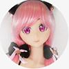 万里子 145cm B-Cup Aotume doll#48 tpe ロリラブドールアニメ