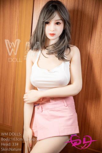 可奈 163cm D-cup TPE WM Doll#33 清楚な美女ラブドールリアル人形