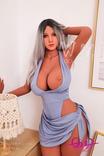 Linda 169cm L-cup TPE WM Doll#413 爆乳・爆尻外国ダッチワイフ