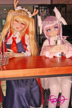 135cm c-cup 155cm f-cup Aotume Doll#52+#51 アニコス可愛いアニメラブドール