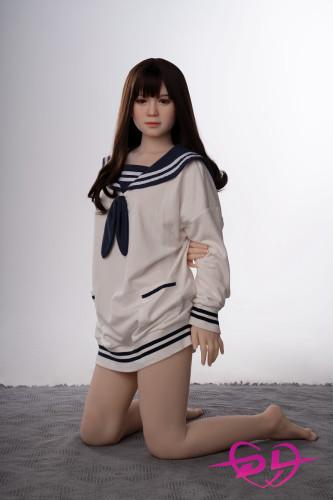 里保 154cm 普胸 AXB doll#TE61 TPE製 隠れた妖艶な魅力ラブドール