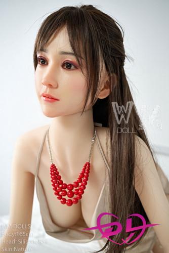 麻冬 160cm D-cup wmdoll#85 シリコン頭部 綺麗美人リアルドール風俗娘セックス人形