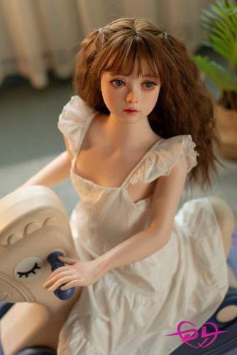 はるか 貧乳100cm WAX Doll#G26 シリコン製 貧乳小柄体セックスドール