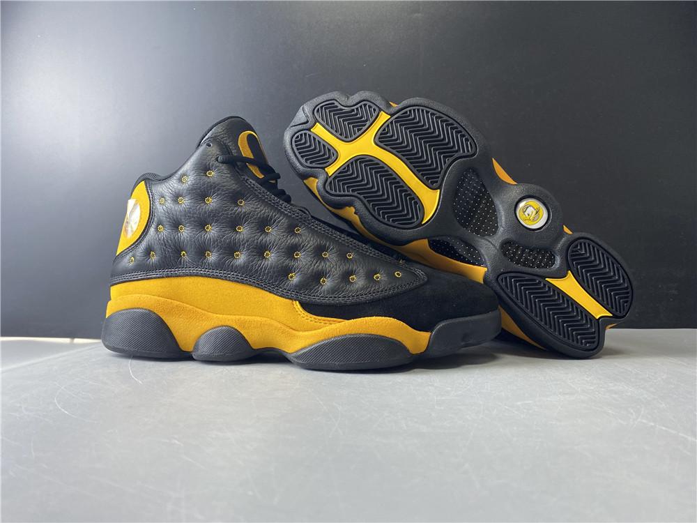 US$ 155 - Air Jordan 13 Black Yellow