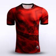 sublimated soccer jersey 13420