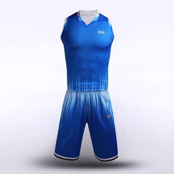 sublimated basketball jersey set 12908