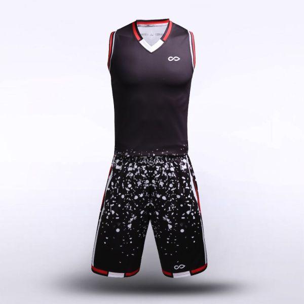 sublimated basketball jersey set 13240