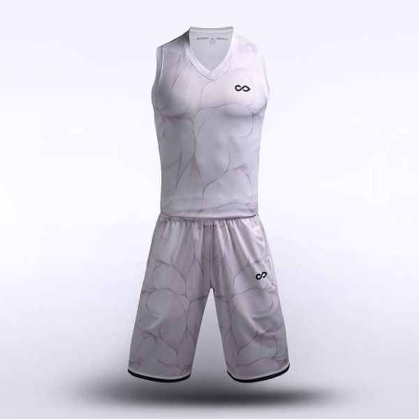 sublimated basketball jersey set 12913