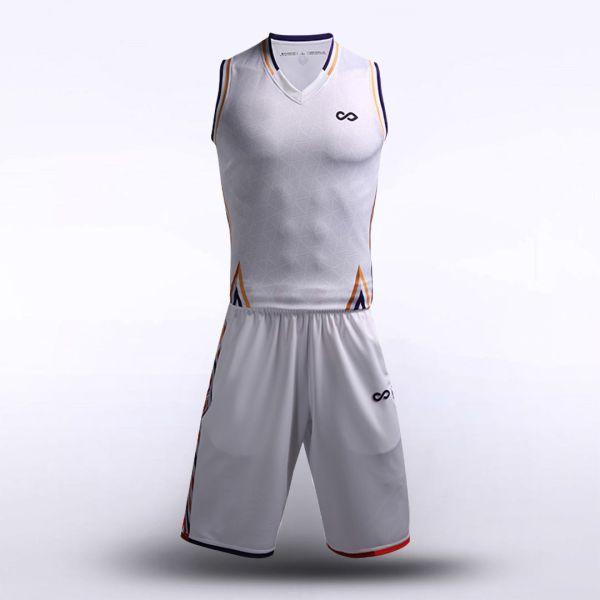 sublimated basketball jersey set 12915