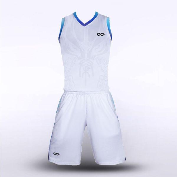 sublimated basketball jersey set 12726