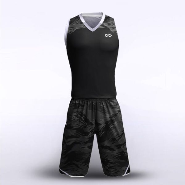 sublimated basketball jersey set 13852