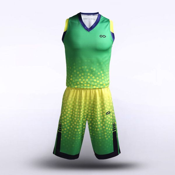 sublimated basketball jersey set 13242