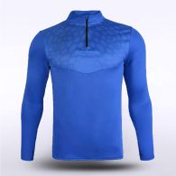 sublimated knitted 1/4 zip 16259