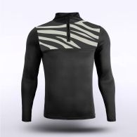 sublimated knitted 1/4 zip 15991