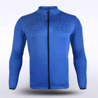 sublimated knitted Sports Jacket 16256
